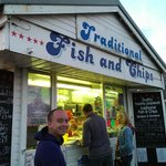 The best fish and chips in Bridport - also amazing squid