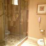 Huge shower enclosure