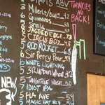 Draft Beer List Sept 2013