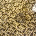stains on rugs on every floor of hotel
