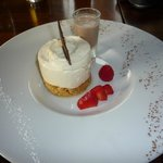 Baileys and Vanilla Cheesecake - yummy