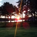 Sunrise from the Adirondack chairs