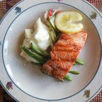Wonderful salmon dinner!