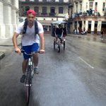 Biking in Habana Vieja