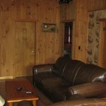 Cabin 7 family room