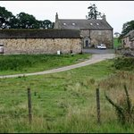 The farm house from the country lane