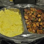 SpringHill Suites-Las Colinas: possibly the best hotel breakfast I've ever had!