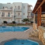 the appartments La Playa, Malia, Crete (GR)