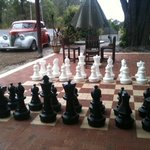 Chess set and the Chev