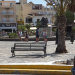 Square in elounda