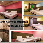 Newly Constructed Rooms