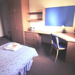 Single en-suite room in Sutton Hall