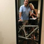 We kept our bikes in our room! #bikerFriendly