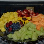 Breakfast - terrific fruit platter