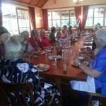 Cristmas Function of local club at  Vineyard Cottages