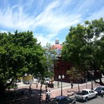 View from our balcony - Parque de Bombas