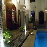 Pool at Riad El Amine