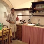 The kitchen/dining ....fully self contained trulli
