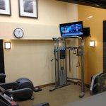 fitness center tv