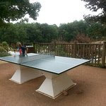 table tennis with free bats at eurocamp