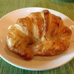 Freshly baked crossiant