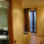 nice room with massage shower and bath