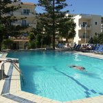 Pool and 2 blocks of accommodation