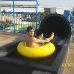 Inner tube slides with the awesome Premium Rave Tubes. These tubes are very comfortable and awes