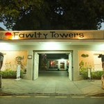 Fawlty Towers entrance