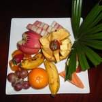 The welcome fruite plate