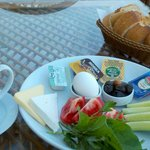 Turkish breakfast served to you