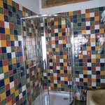 Snazzy tiles in the bathroom - Room 8