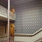 Pugin Wallpaper in Stairwell