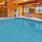 Indoor Heated Pool  Size 25X16 3546 Deep