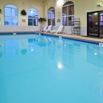 Kids love to play in our indoor pool area.