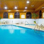Don't forget to take a dip in our indoor Swimming Pool!