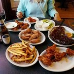 The feast of wings and ribs!