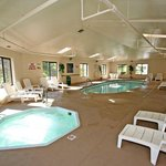 Relax in our SPA and Indoor Heated Pool