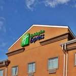 Look for the Holiday Inn Express Sign