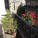 cute, romantic little balcony