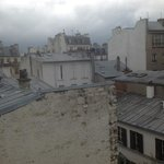 French balcony rooftop views