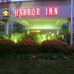 Harbor Inn Night Lights