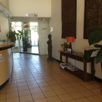 Reception area at Rays Resort - Tony Scott