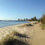 Beautiful beachside walkways along the Broadwater at Southport, Gold Coast - Tony Scott
