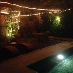 the backyard by night <3