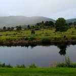 View of the Caledonian canal from our room