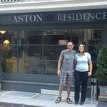Nick and Aston Residence Staff