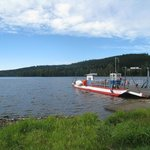 Lipno lake ferry