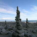 Rock Spires on the Beach