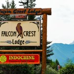 Falcon Crest Welcome Sign